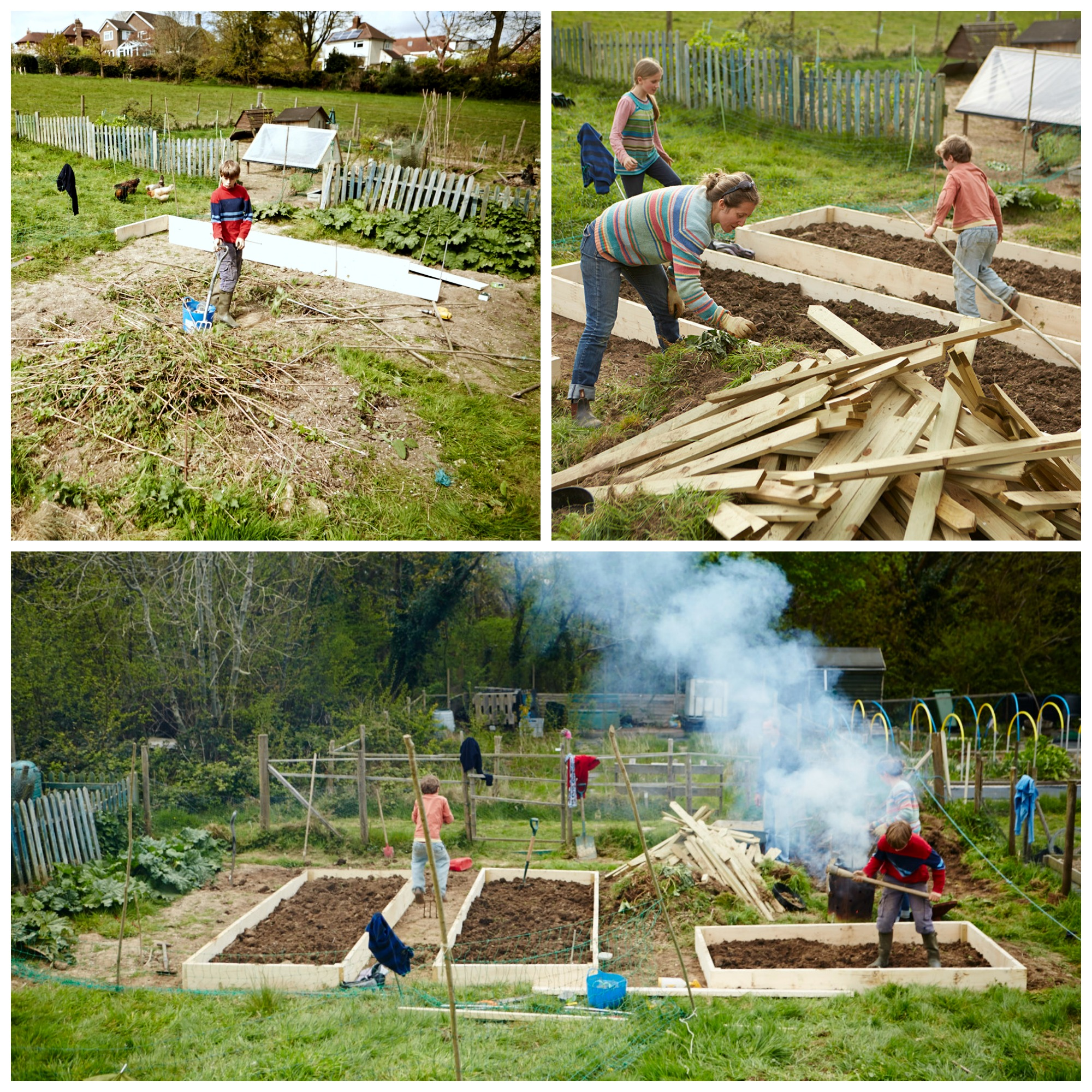 creating a garden pt 3 raised beds and fencing – homegrown kate